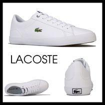 【LACOSTE】完売間近! Mens Lerond 418 Trainers スニーカー 白