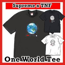 Supreme x The North Face tnf One World Tee SS 20 WEEK 13