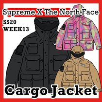 Supreme x The North Face TNF Cargo Jacket SS 20 WEEK 13