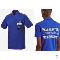 FRED PERRY★Art Comes First Embroidered FP Shirt