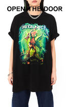 ◆ OPEN THE DOOR ◆ neon metallica 1/2 T - UNISEX