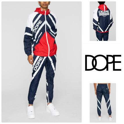 DOPE セットアップ 【DOPE】Wired Reflective 上下セットアップ Blue/Red