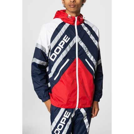 DOPE セットアップ 【DOPE】Wired Reflective 上下セットアップ Blue/Red(2)