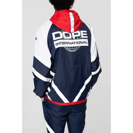 DOPE セットアップ 【DOPE】Wired Reflective 上下セットアップ Blue/Red(3)