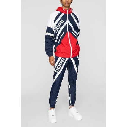 DOPE セットアップ 【DOPE】Wired Reflective 上下セットアップ Blue/Red(8)
