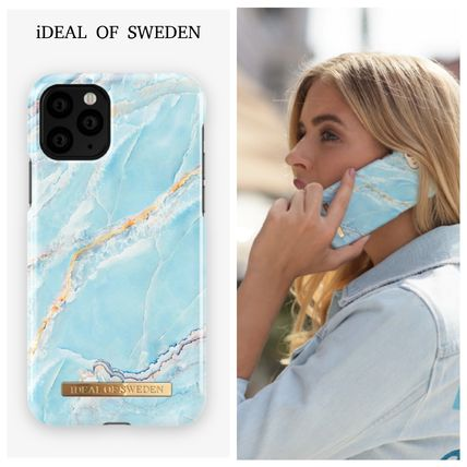iDEAL OF SWEDEN スマホケース・テックアクセサリー 【セール】iDEAL OF SWEDEN ISLAND PARADISE MARBLE iphone case