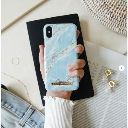 iDEAL OF SWEDEN スマホケース・テックアクセサリー 【セール】iDEAL OF SWEDEN ISLAND PARADISE MARBLE iphone case(2)