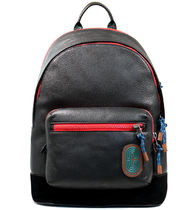 COACH WEST BACKPACK  IN COLORBLOCK WITH COACH PATCH