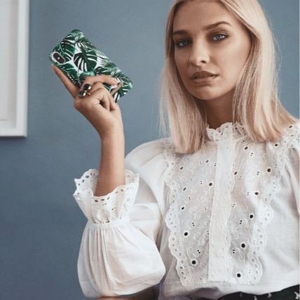 iDEAL OF SWEDEN スマホケース・テックアクセサリー 【セール】iDEAL OF SWEDEN MONSTERA JUNGLE  iphone case(2)