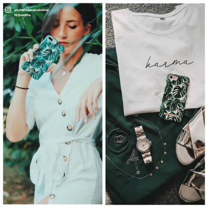 iDEAL OF SWEDEN スマホケース・テックアクセサリー 【セール】iDEAL OF SWEDEN MONSTERA JUNGLE  iphone case(5)