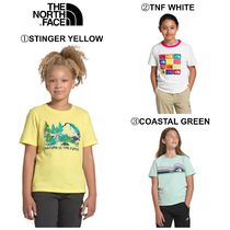 【The North Face】☆新作☆ GIRLS' SHORT SLEEVE GRAPHIC TEE