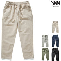 WV PROJECT★Hollow Banding Cool Crop Pants 5カラー-CJLP7378