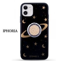 【IPHORIA】Eye/Star/space/ring☆リング付iPhone11用ケース☆黒