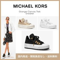 【Michael Kors】Granger Canvas Trek Sneaker♪厚底スニーカー