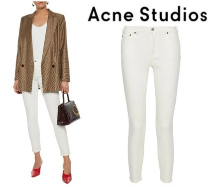 Acne デニム・ジーパン [関税・送料込] Acne Studios☆Cropped mid-rise skinny jeans