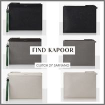 FIND KAPOOR(ファインドカプール) クラッチバッグ 【FIND KAPOOR】新商品●Clutch 27 Saffiano クラッチ3色