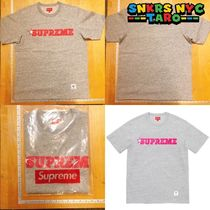 Supreme SS20 Week9 Star Logo S/S Top Tee / Heather Grey