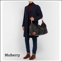 Mulberry(マルベリー) バッグ 【便利商品】Medium Clipper Pebble-Grain Leather Holdall