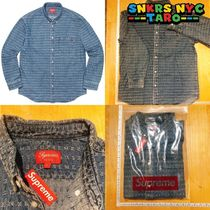 Supreme SS20 Week5 / Jacquard Denim Shirt / Blue