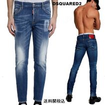 【Dsquared2 I Love D2 Slim Jeans】ILoveD2ロゴ スリムジーンズ