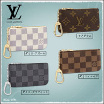【LOUIS VUITTON】ポシェット・クレ モノグラム ダミエ