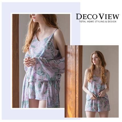 DECO VIEW ルームウェア・パジャマ ★DECOVIEW★フラワーパジャマセット★flower Botanical Mood♪