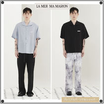 日本未入荷La Mer Ma MaisonのWING COLLOR SHIRT 全2色