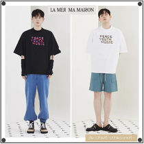 日本未入荷La Mer Ma Maisonの88WORLD COLLABORATION HALF-T