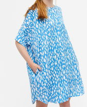 """MONKI"" Oversized shirt dress Blurred spots"