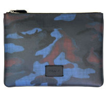 ☆COACH☆LARGE POUCH WITH HALFTONE CAMO PRINT