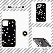 kate spade☆ring & dot resin iphone /11PRO MAX/11PRO/11水玉