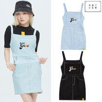 ROMANTIC CROWN★ GNAC OVERALL COTTON DRESS 2カラー