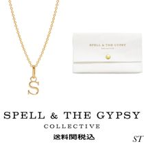SPELL(スペル) ネックレス・ペンダント Spell & The Gypsy WILD LOVE LETTER CHARM NECKLACE 送関込