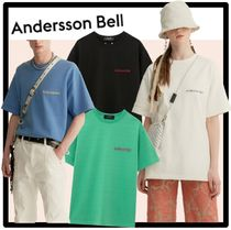 ☆関税込☆ANDERSSON BEL★FULL NAME LOGO HAND EMBROIDERY T
