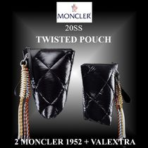 20SS 完売必至★2 MONCLER 1952+VALEXTRA★TWISTED POUCH ポーチ