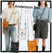 ANDERSSON BELL(アンダースンベル) ショルダーバッグ ★送料・関税込★ANDERSSON BEL★MONTEREY LEATHER BAG★3色★
