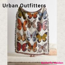 :: Urban Outfitters :: 蝶々柄ブランケット