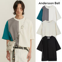 ANDERSSON BELL★ INSIDE OUT ASYMMETRY SWEATSHIRTS 半袖