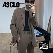 ASCLO Kant Accenti Single Suit (KHAKI) JH118/追跡付