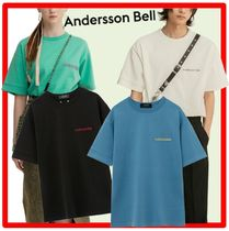 ANDERSSON BELL(アンダースンベル) Tシャツ・カットソー ★ANDERSSON BELL★FULL NAME LOGO HAND EMBROIDERY T★4色★