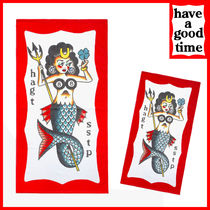 have a good time(ハブアグットタイム) タオル have a good time Mermaid Pin-up Towel MH1669 追跡付
