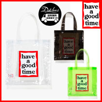 have a good time(ハブアグットタイム) トートバッグ have a good time PVC Clear Tote MH1675 追跡付