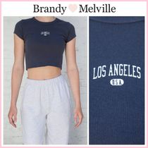 日本未入荷 ☆Brandy Melville☆ ASHLYN LOS ANGELES U.S.A. TOP