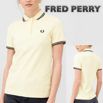 【Fred Perry】Twin Tippedイエローポロシャツ