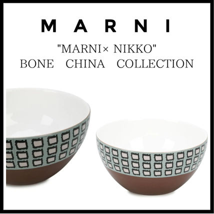 "MARNI 食器(皿) 【MARNI】ボウル ""MARNI × NIKKO"" BONE CHINA COLLECTION(3)"