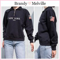 新作!! ☆Brandy Melville☆ MISSY NEW YORK U.S.A. SWEATSHIRT