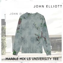 完売必須! JOHN ELLIOTT MARBLE MIX LS UNIVERSITY TEE
