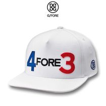 【G/FORE】☆軽量☆ゴルフロゴキャップ☆4FORE3 SNAPBACK