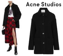 [関税・送料込] Acne Studios☆Wool-blend felt coat