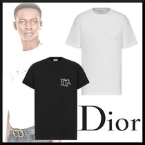 【20AW新作☆直営店買付】DIOR★ロゴ コットンoversize Tシャツ